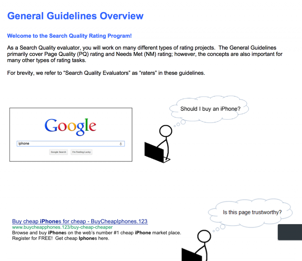 static.googleusercontent.com media www.google.com ja  insidesearch howsearchworks assets searchqualityevaluatorguidelines.pdf