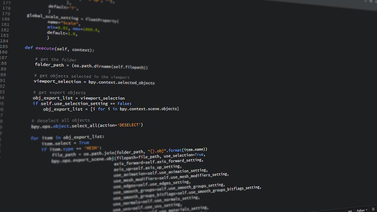機械学習でPythonが主流になっている必然的な理由とは