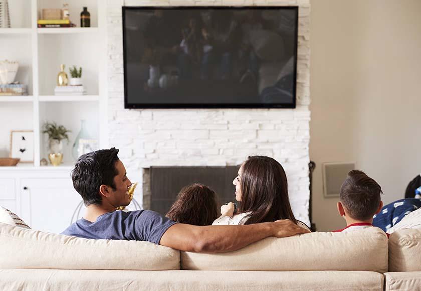 テレビと家族
